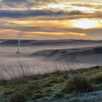 Buy canvas prints of  Sunrise Over Hope Valley by Jason Connolly