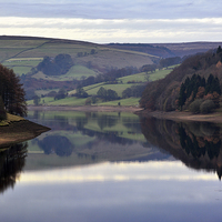 Buy canvas prints of  Ladybower Reservoir by Jason Connolly