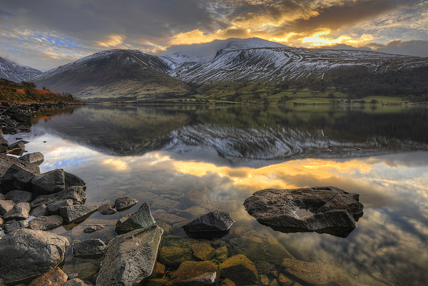 Wastwater, Cumbria Canvas print by Jason Connolly