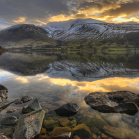 Buy canvas prints of  Wastwater, Cumbria by Jason Connolly