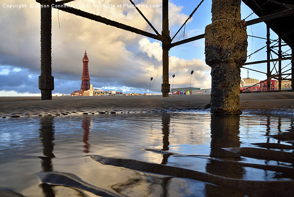 Blackpool Views Canvas print by Jason Connolly