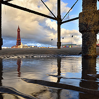 Buy canvas prints of Blackpool Views by Jason Connolly