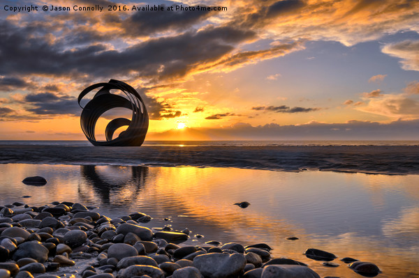 Mary's Shell, Cleveleys Canvas print by Jason Connolly