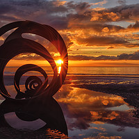 Buy canvas prints of Mary's Shell At Sunset by Jason Connolly