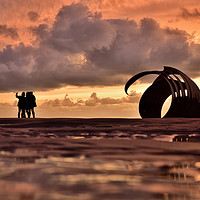 Buy canvas prints of Selfies At The Seashell by Jason Connolly