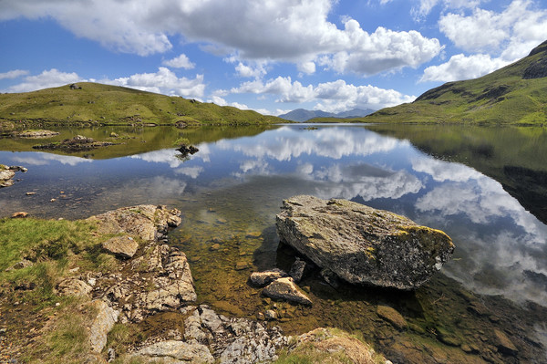 Stickle Tarn, Langdales Canvas print by Jason Connolly