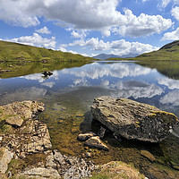 Buy canvas prints of Stickle Tarn, Langdales by Jason Connolly