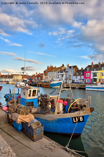 Weymouth Boats Canvas print by Jason Connolly