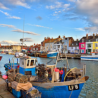 Buy canvas prints of Weymouth Boats by Jason Connolly