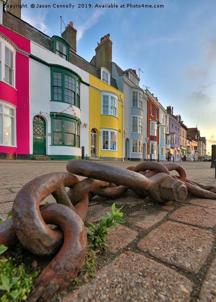 Weymouth, Dorset. Canvas print by Jason Connolly