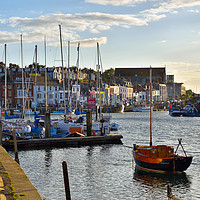 Buy canvas prints of Weymouth Harbour. by Jason Connolly