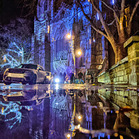 Buy canvas prints of York Minster Reflections. by Jason Connolly