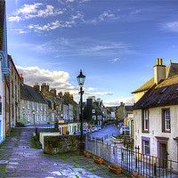 Buy canvas prints of The High Street from East Terrace by Tom Gomez