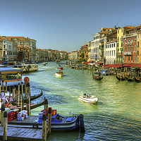Buy canvas prints of Life in Venice by Tom Gomez