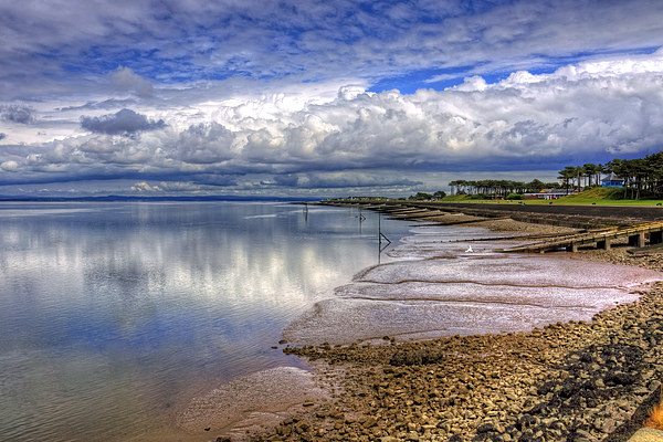 The Waterfront at Silloth Canvas print by Tom Gomez