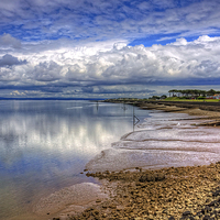 Buy canvas prints of The Waterfront at Silloth by Tom Gomez