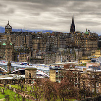 Buy canvas prints of Grey Old Town by Tom Gomez