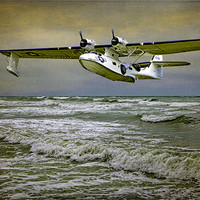 Buy canvas prints of Catalina Flying Boat by Chris Lord's Pixielated Pixels