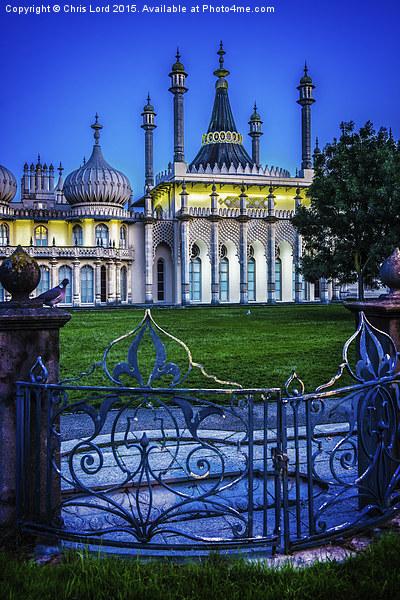 Dawn At Brighton's Royal Pavilion Canvas print by Chris Lord