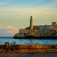 Buy canvas prints of Daybreak On The Havana Malecon by Chris Lord