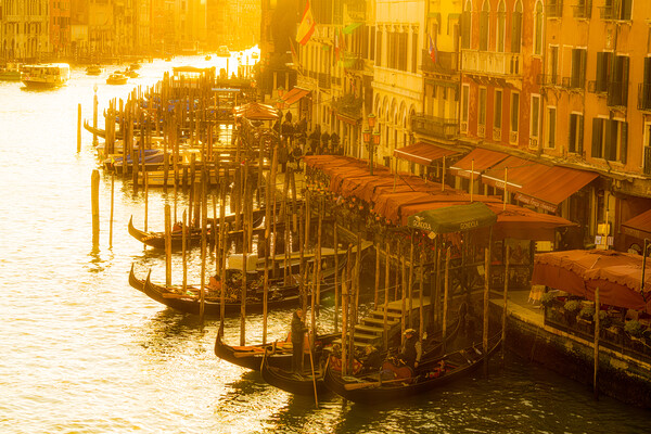 High Noon On The Grand Canal Print by Chris Lord