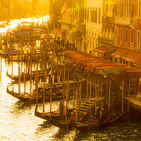 Buy canvas prints of High Noon On The Grand Canal by Chris Lord