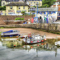 Buy canvas prints of Paignton Harbour by Gerry Greer