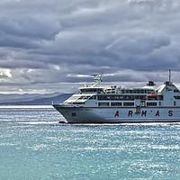 Buy canvas prints of Playa Blanca To Corralejo Ferry by Gerry Greer