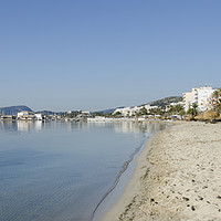 Buy canvas prints of Puerto Pollensa Panorama by Gerry Greer