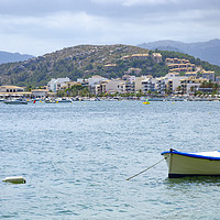 Buy canvas prints of Puerto Pollensa Harbour by Gerry Greer