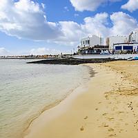 Buy canvas prints of Playa Corralejo Fuerteventura by Gerry Greer