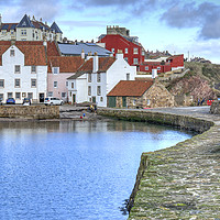 Buy canvas prints of Pittenweem Harbour Area by Gerry Greer