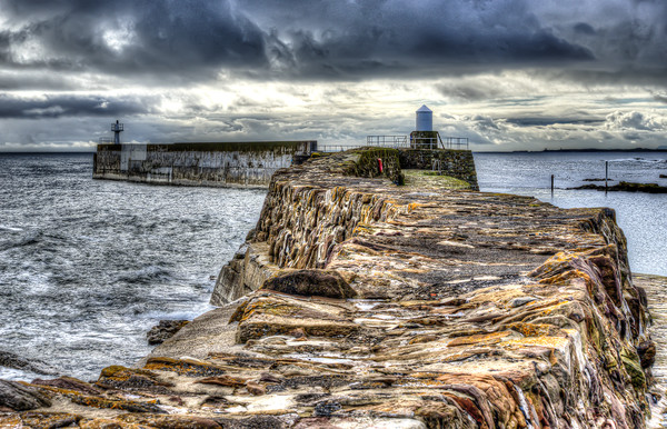 Pittenweem Harbour Wall Canvas print by Gerry Greer