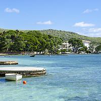 Buy canvas prints of Illa d'Or Puerto Pollensa Mallorca by Gerry Greer