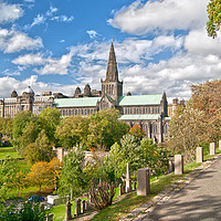 Buy canvas prints of Glasgow Cathedral Scotland by Gerry Greer