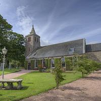 Buy canvas prints of Crail Parish Church Scotland by Gerry Greer