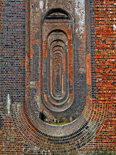 Ouse Valleey Viaduct Framed Print by Karl Butler