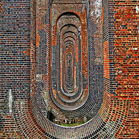 Buy canvas prints of Ouse Valleey Viaduct by Karl Butler
