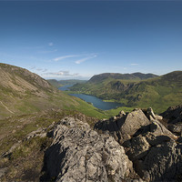 Buy canvas prints of Buttermere from Haystacks by Eddie John
