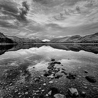 Buy canvas prints of Derwentwater by John  Hare