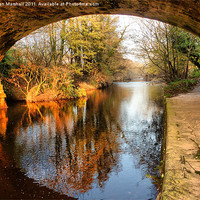 Buy canvas prints of Under the Aquaduct. by Lilian Marshall