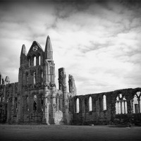 Buy canvas prints of Whitby Abbey. by Lilian Marshall