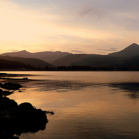 Buy canvas prints of Brodick Bay- Isle of Arran by Lilian Marshall