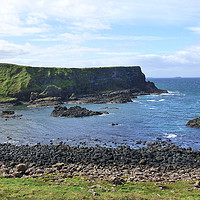 Buy canvas prints of Giants Causeway.  by Lilian Marshall