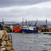 Buy canvas prints of Cromarty Harbour.  by Lilian Marshall