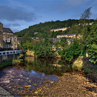 Buy canvas prints of Hebden View by Sandra Pledger
