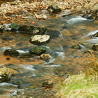 Buy canvas prints of WATER ROUND STONES by andrew saxton