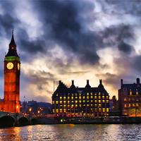 Buy canvas prints of Big Ben by Maria Tzamtzi Photography