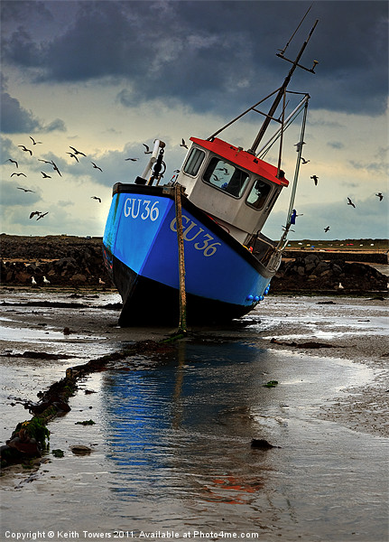 Fishing Boat 3 Canvases & Prints Canvas print by Keith Towers Canvases & Prints