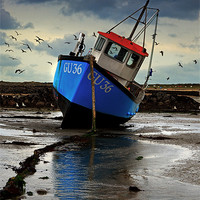 Buy canvas prints of Fishing Boat 3 Canvases & Prints by Keith Towers Canvases & Prints